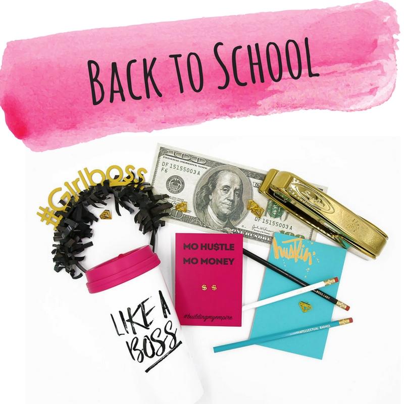 Back to School - #Girlboss WOW Box Gift - Little Shop of WOW - Canada - Desk Swag