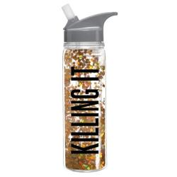 Killing It Confetti Water Bottle - Slant Collections - Little Shop of WOW