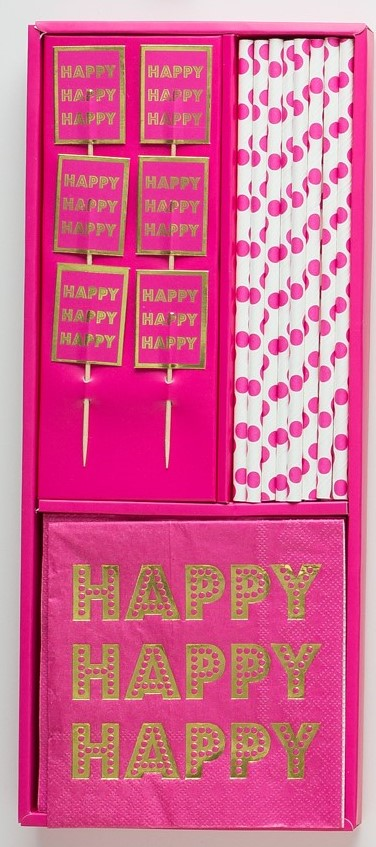 Confetti - Happy BirthYAY! - Prȇt-à-Party Box - Little Shop of WOW