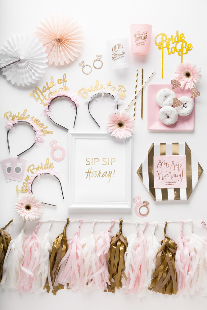 Sip Sip Hooray Bridal Shower - Prȇt-à-Party Box - Little Shop of WOW