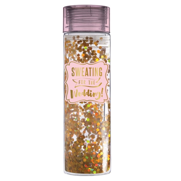 Sweating for the Wedding Water Bottle - Slant Collections - Little Shop of WOW