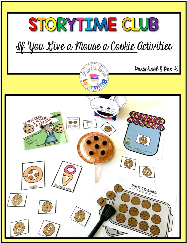 Hands-On & FUN Activities for If You Give a Mouse a Cookie ...