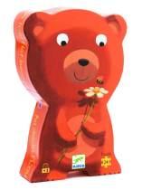 go to sleep bear cub silhouette puzzle
