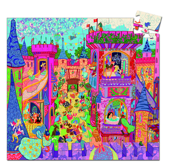 image of fairy castle with much frivolity