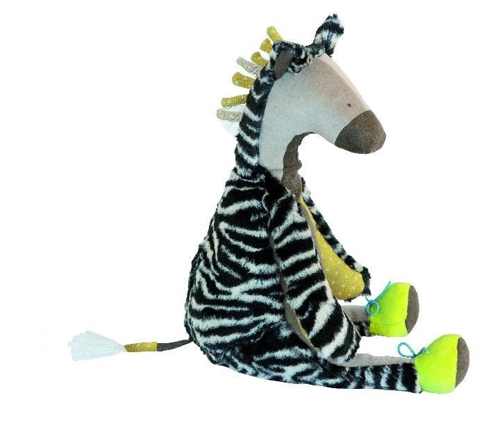 Zouzou the zebra