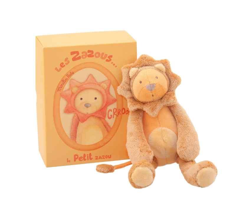 Les Zazous small lion doll