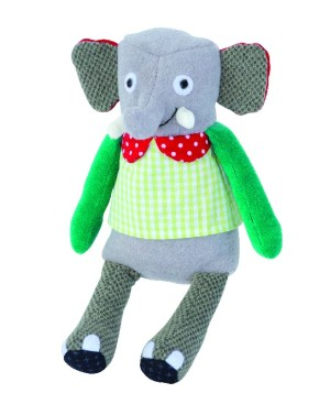 Les Popipop small elephant doll
