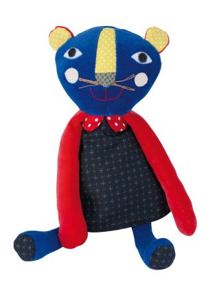 Les Popipop small panther doll