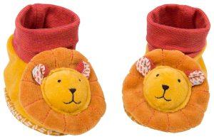 les Papoum lion slippers