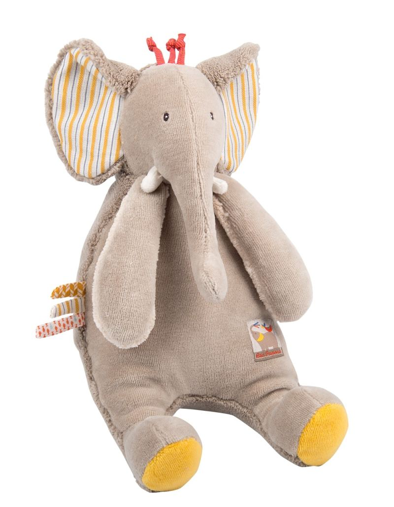 Les Papoum elephant doll - Moulin Roty