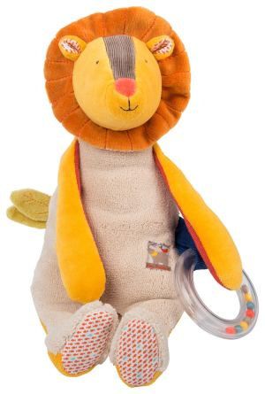 Les Papoum activity lion - Moulin Roty