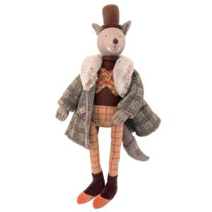 wolf from fairy tales and nursery rhymes - il etait une fois - once upon a time - Moulin Roty toys Australia