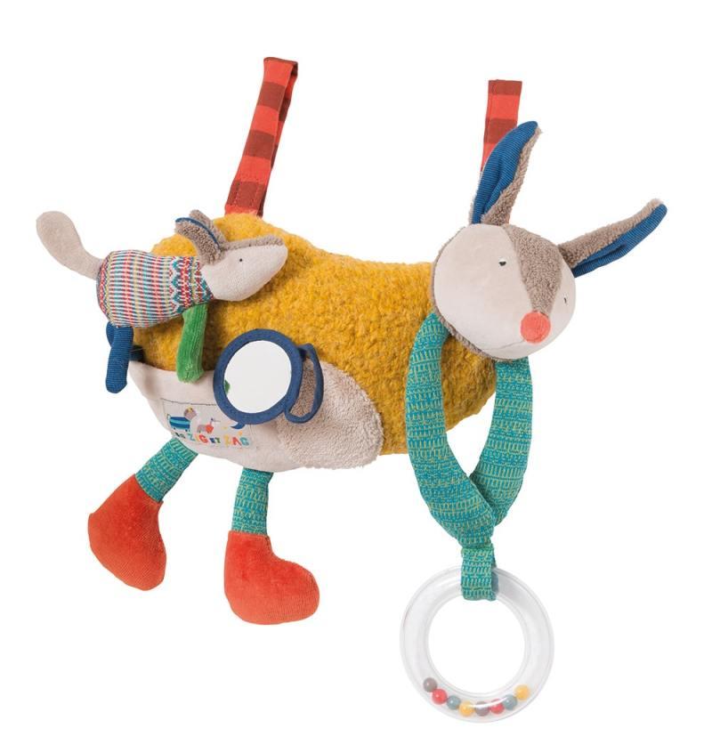 activity toy, baby toys, babies toys, soft toys, les zig et zag, Moulin Roty toys Australia