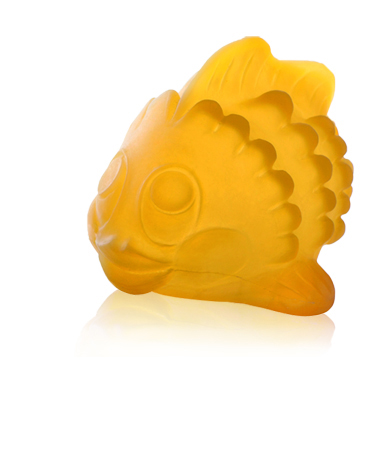 Hevea Natural Rubber Bath Toy Polly the Fish