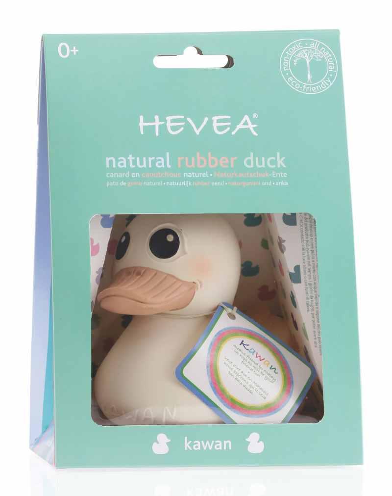 HE-KW-Duck Hevea Kawan natural rubber bath toys