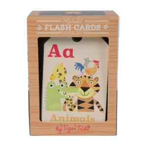 Tiger tribe flash cards ABC