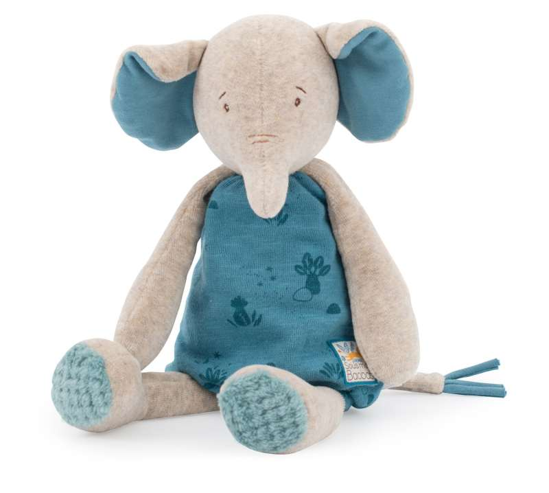 bergamote the elephant soft toy moulin roty