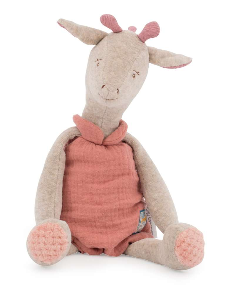 bibiscus the giraffe soft toy moulin roty