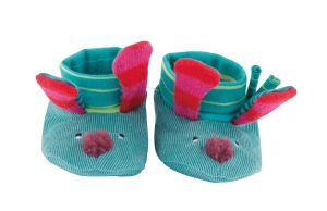 jolis pas beaux - dog slippers - moulin roty
