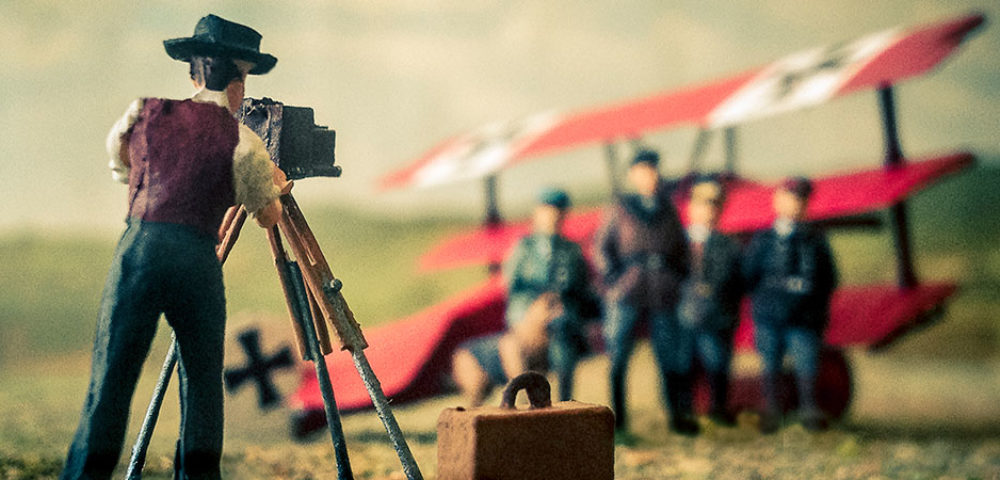 The Photographer shoots the Red Baron