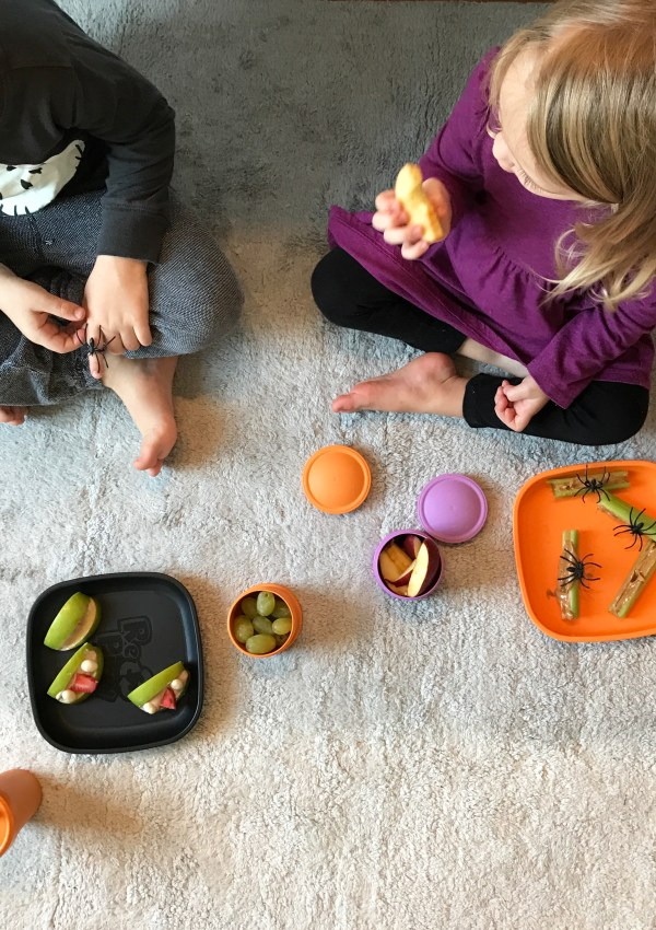 Healthy Halloween Snacks with Replay Recycled