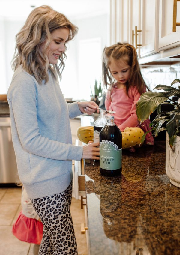 Why Our Family Drinks Elderberry Syrup