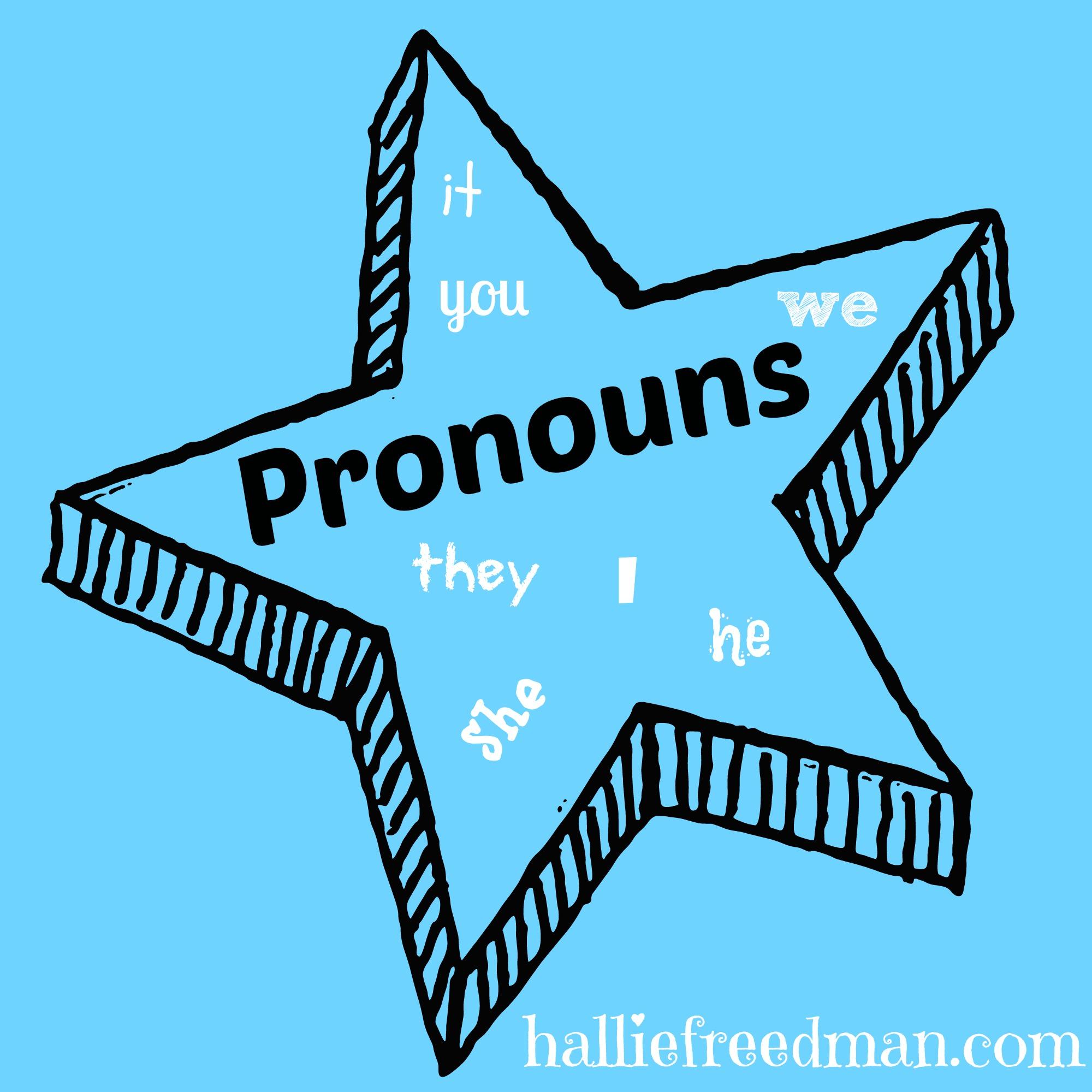 Teaching Young Children Pronouns