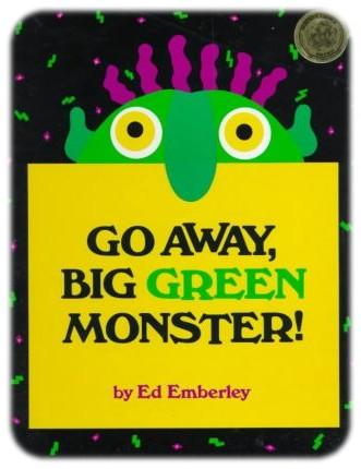 Resultado de imagen de go away big green monster