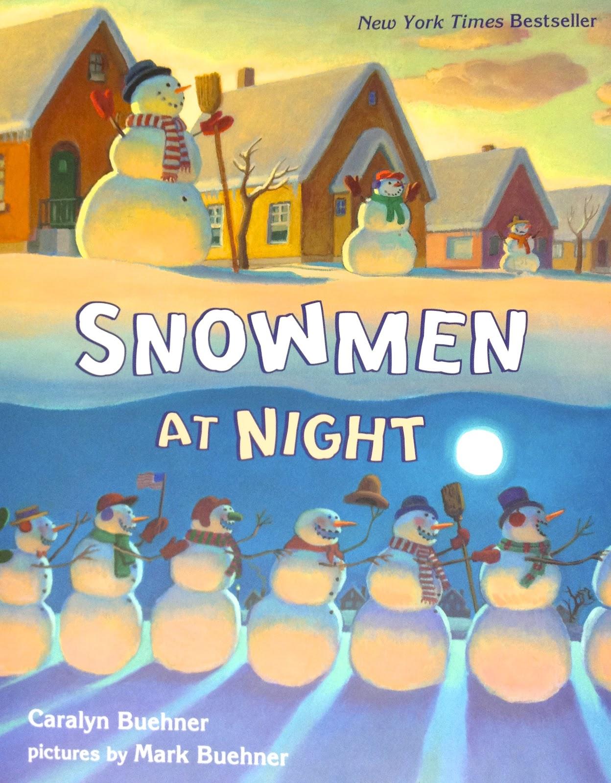 Book Club Week 18 Snowmen At Night