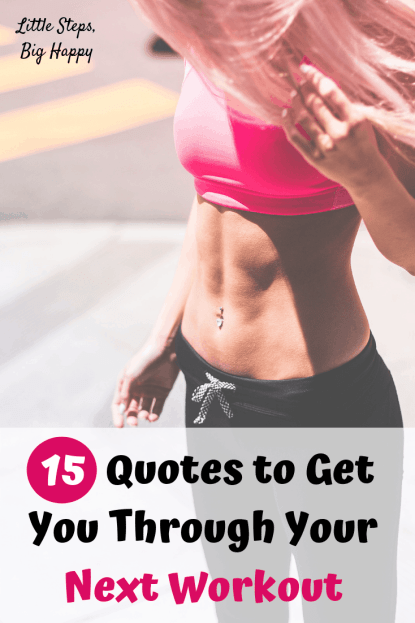 15 Motivational Workout Quotes for Women