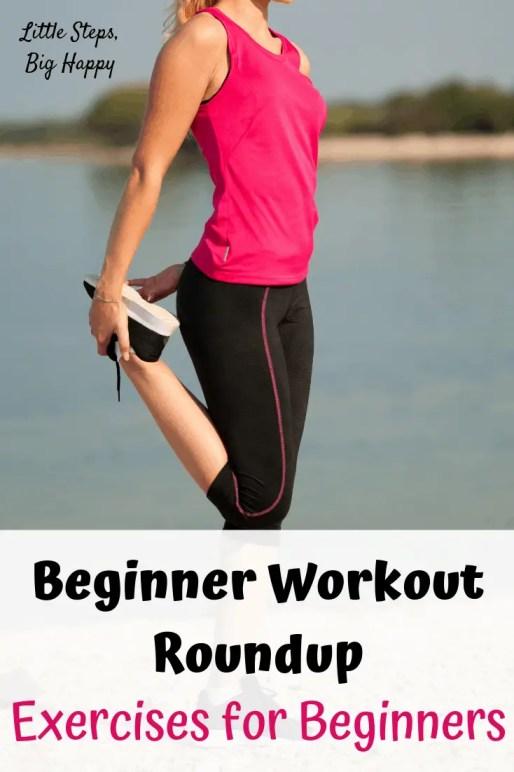 Beginner Workout Roundup: Exercises for Beginners