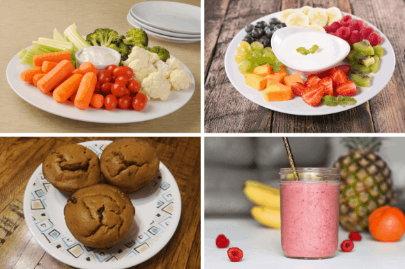 11 Quick Healthy Snack Ideas for Kids: Snacks 5-8