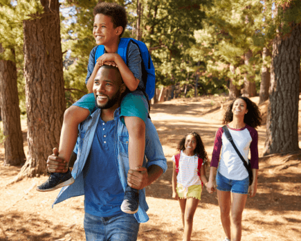 Summer Activities for Active Families: Family Hiking