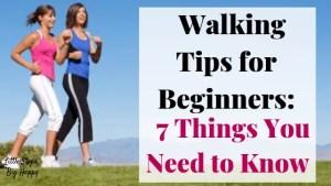 Walking Tips for Beginners