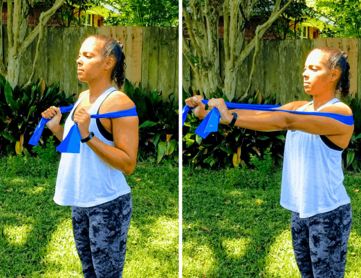 Chest Press - Resistance Band