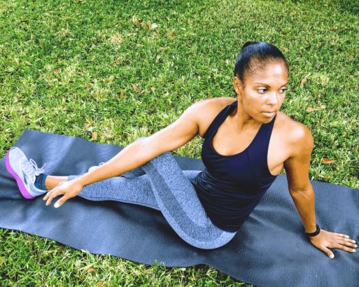 Beginner Yoga Routine - Seated Twist