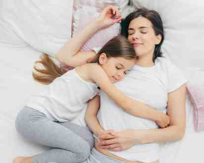 sleep weight loss tips for moms