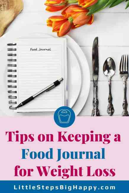 How to Keep a Food Journal for Weight Loss