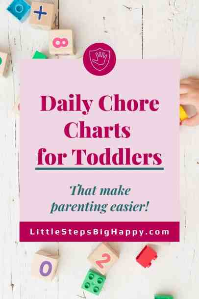 4 Chore Charts for Toddlers That Make Parenting Easier