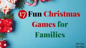 17 Fun Christmas Games for Families