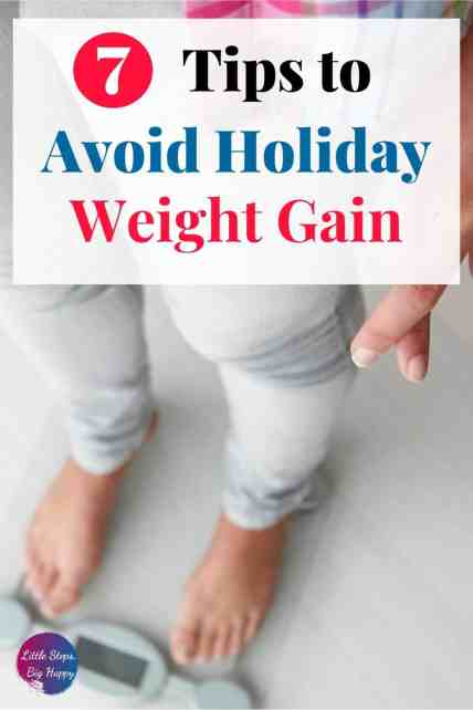 7 Simple Tips to Avoid Holiday Weight Gain