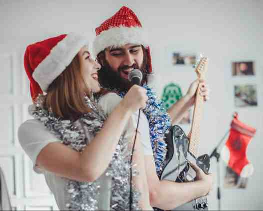 Indoor Christmas Activities for Families - Sing Christmas Songs