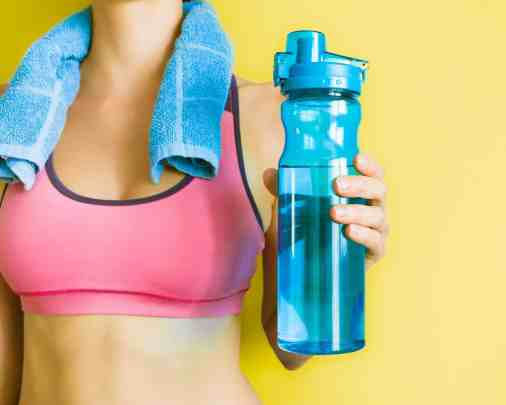 Tips for drinking more water - drink a cup of water after each workout