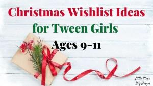 christmas ideas for tween girls