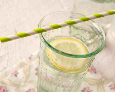Tips for drinking more water - use a straw