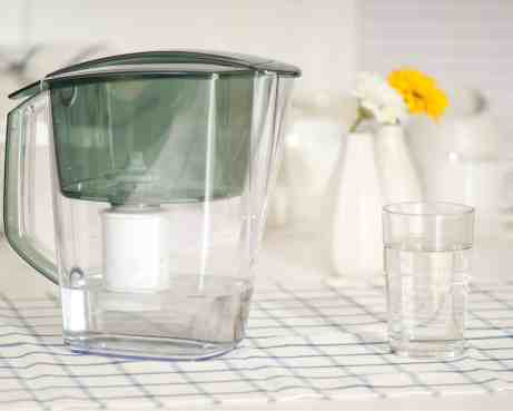 Tips for drinking more water - use a water filter