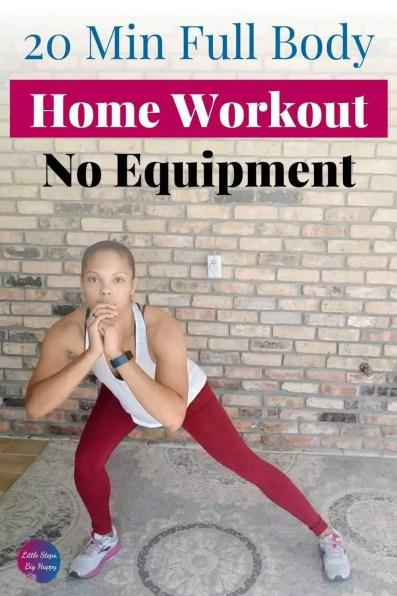 Quick Beginner Full Body Workout - No Equipment