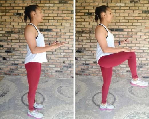 High Knee March - Quick Beginner Full-Body Workout - No Equipment