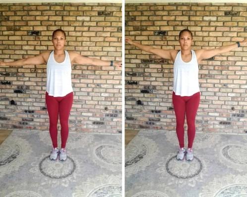 Arm Circles - Quick Beginner Full-Body Workout - No Equipment