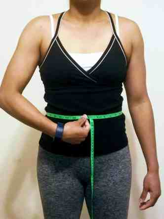 How to take body measurements for weight loss - waist